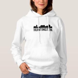 Huntington West Virginia City Skyline Hoodie