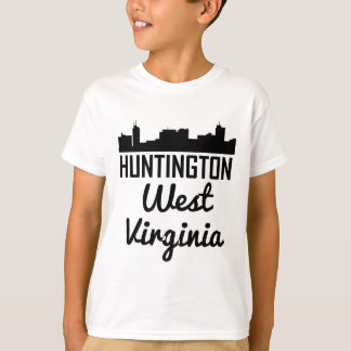 Huntington West Virginia Skyline T-Shirt