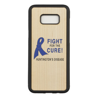 Huntington's Disease Fight for the Cure Carved Samsung Galaxy S8+ Case
