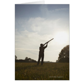 Huntress Greeting Card