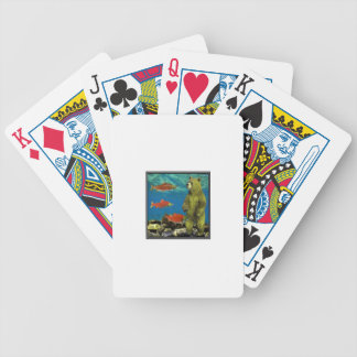 Huntress up Stream Bicycle Playing Cards