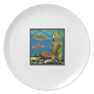 Huntress up Stream Dinner Plates