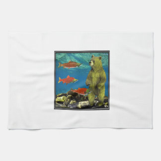 Huntress up Stream Kitchen Towel