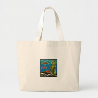 Huntress up Stream Large Tote Bag
