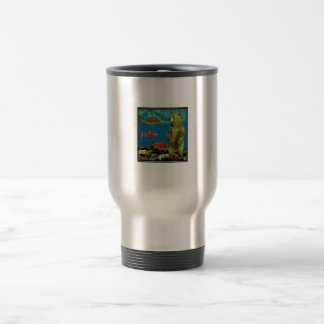 Huntress up Stream Travel Mug