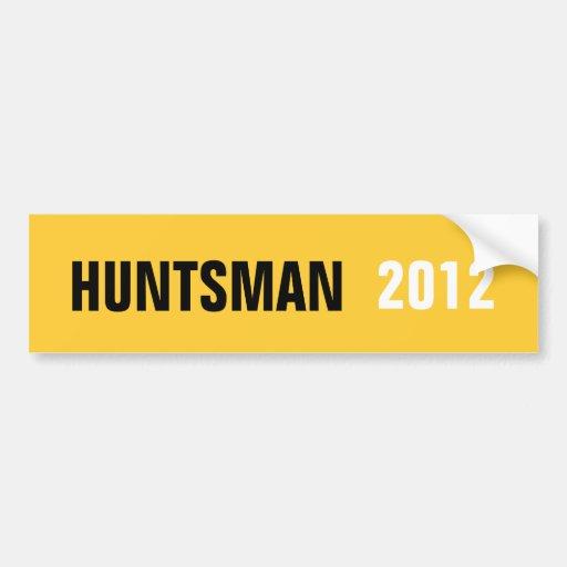 HUNTSMAN 2012 STICKER BUMPER STICKERS