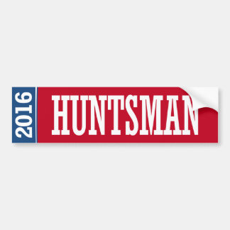 HUNTSMAN 2016 BUMPER STICKER