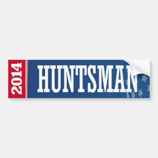 HUNTSMAN 2016 BUMPER STICKERS
