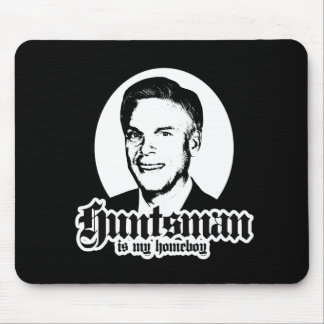 HUNTSMAN IS MY HOMEBOY MOUSE PAD