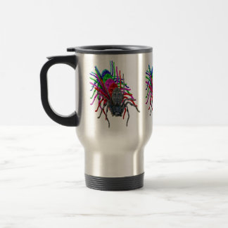 Huntsman Spider In Multi Colours, Travel Mug