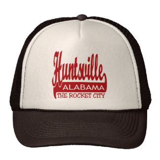 Huntsville, Alabama The Rocket City Trucker Hat
