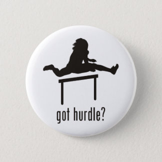 Hurdle 2 Inch Round Button