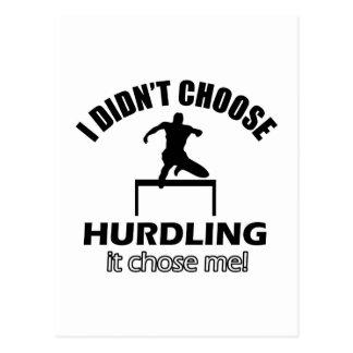 hurdle designs postcard