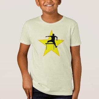 Hurdles Silhouette Star T-Shirt