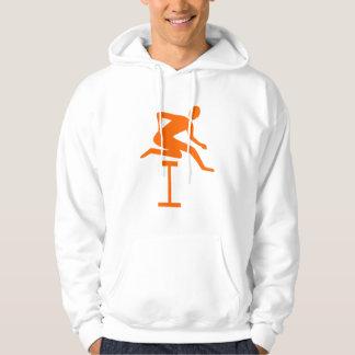 Hurdling - Orange Hoodie