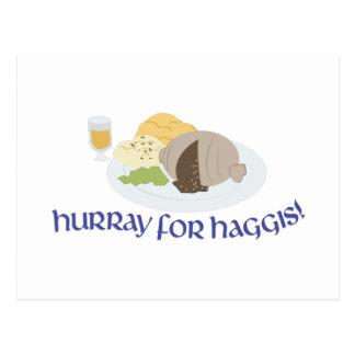 Hurray For Haggis! Postcard