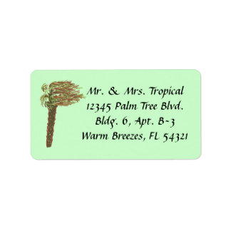 Hurricane Address Labels - Green