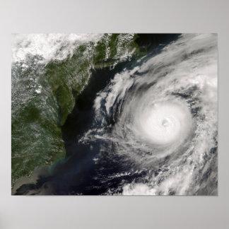 Hurricane Alex Poster