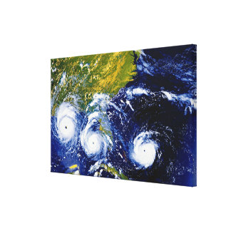 Hurricane Andrew Canvas Print