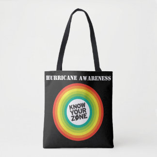 Hurricane Awareness Tote Bag