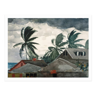Hurricane, Bahamas by Winslow Homer Postcard