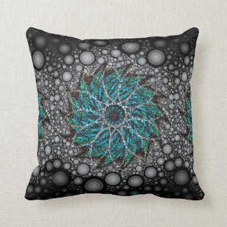 Hurricane Blowing In Throw Pillow