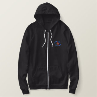 Hurricane Embroidered Hoodie