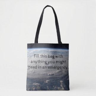 Hurricane Emergency Tote Bag