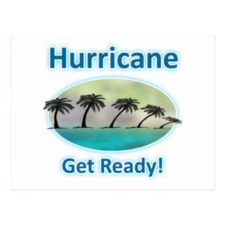 Hurricane. Get Ready! Postcard