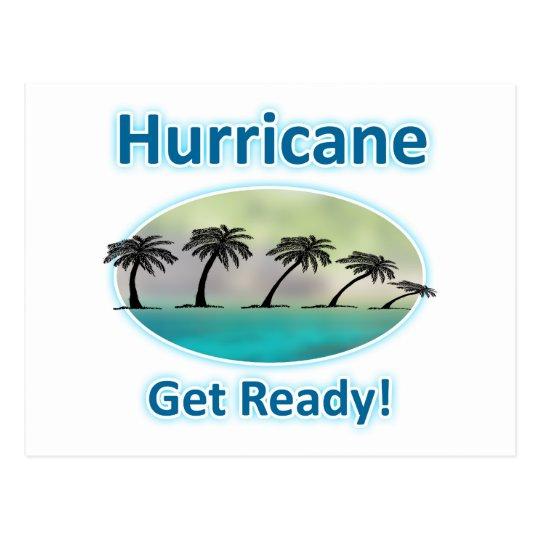 Hurricane. Get Ready! Postcard
