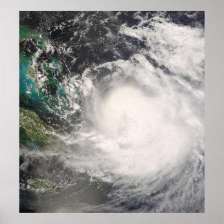 Hurricane Hanna over the Bahamas Poster