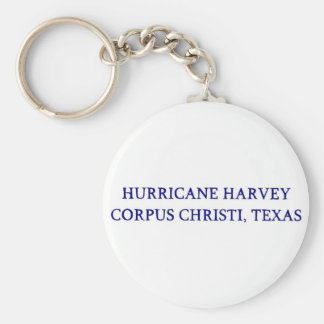 Hurricane Harvey Corpus Christi, Texas Keychain