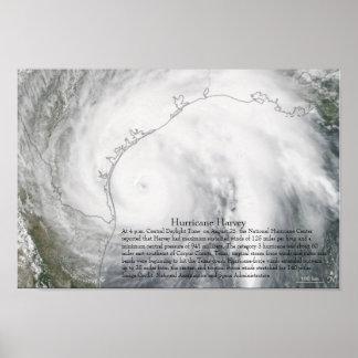Hurricane Harvey Poster