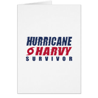 Hurricane Harvey Survivor Card