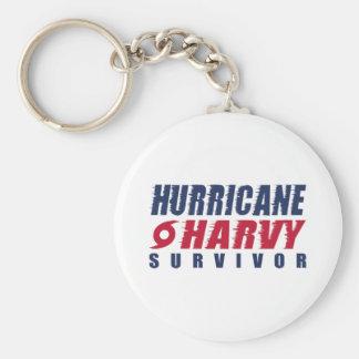 Hurricane Harvey Survivor Keychain