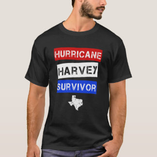 Hurricane Harvey Survivor mens Texas Shirt