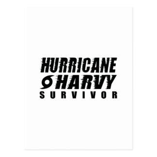Hurricane Harvey Survivor Postcard