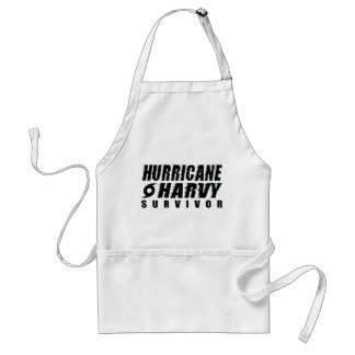 Hurricane Harvey Survivor Standard Apron