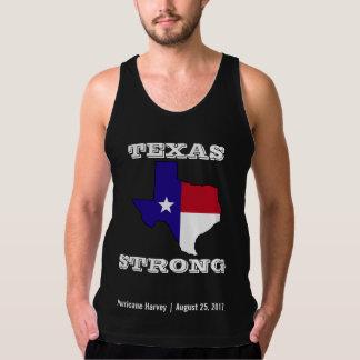 Hurricane Harvey Texas Strong Black Tank Top