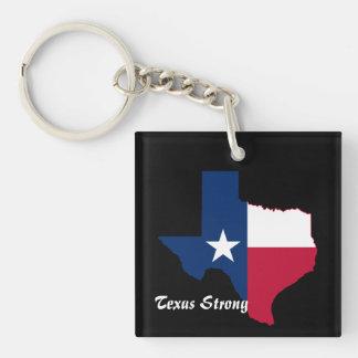 Hurricane Harvey Texas Strong Keychain