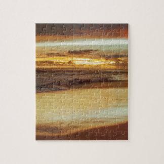 Hurricane Hermine Sunset Jigsaw Puzzle