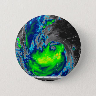 HURRICANE IKE COLOR RADAR 2 INCH ROUND BUTTON
