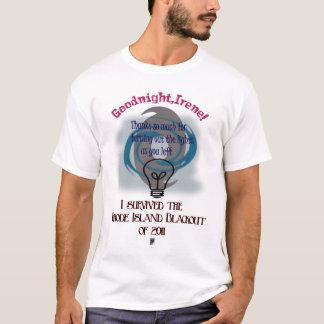 hurricane irene blackout T-Shirt