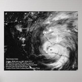 Hurricane Irma 8x10 Poster