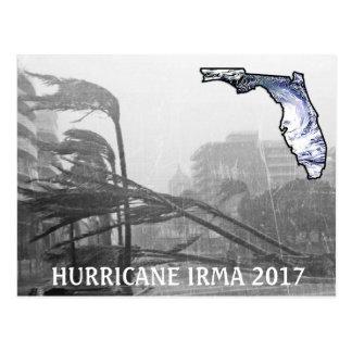 Hurricane Irma Florida 2017 Memorabilia Postcard