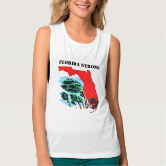 Hurricane Irma Florida Strong Tank Top