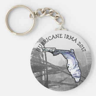Hurricane IRMA IN FLORIDA 2017 Key chain