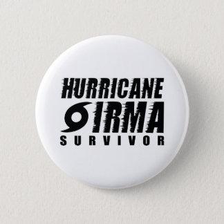 Hurricane Irma Survivor 2 Inch Round Button
