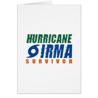 Hurricane Irma Survivor Card