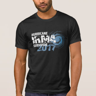 Hurricane Irma Survivor Florida 2017 Dark Shirt
